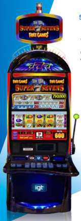 3x2x Super Sevens - Free Games [S3000] the Slot Machine
