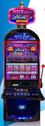 Hot Pink 7's - Free Games the  Slot Machine