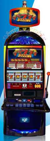 Sizzling 7's [S3000] the  Slot Machine