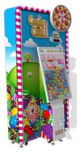 Candy Crush Saga [Ticket model] the Coin-op Redemption Game