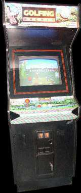Golfing Greats [Model GX061] the Arcade Video game