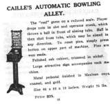 Goodies for Automatic Bowling Alley