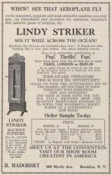 Goodies for Lindy Striker