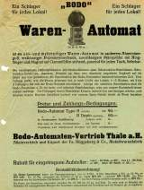 Goodies for Bodo Warenautomat