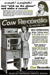 Goodies for Coin-Recordio