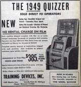 Goodies for Quizzer [Model 1949]