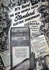 Goodies for Double-Faced Standard Electric Scoreboard [Model 863]