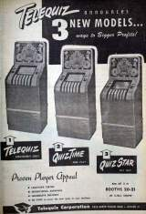 Goodies for Telequiz [1949 model]