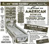 Goodies for American Bowler