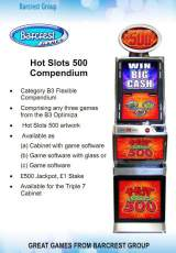 Goodies for Hot Slots 500