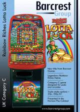 Goodies for Rainbow Riches - Lotta Luck [Horizon Plus cabinet]