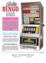 Goodies for Continental Bingo [Model 929-1]