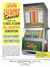 Goodies for Jackpot Special [Model 1038]