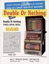 Goodies for Double or Nothing [Model 1083]