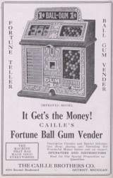 Goodies for Fortune Ball Gum Vender