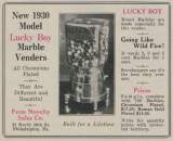 Goodies for Lucky-Boy - Marble Vender [1930 model]