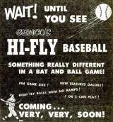 Goodies for Hi-FLY Baseball