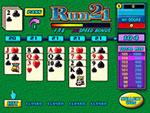 free run 21 card game