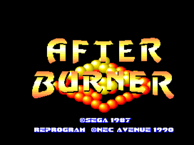 After Burner [Model 46] screenshot
