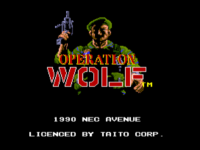 Operation Wolf [Model 26] screenshot