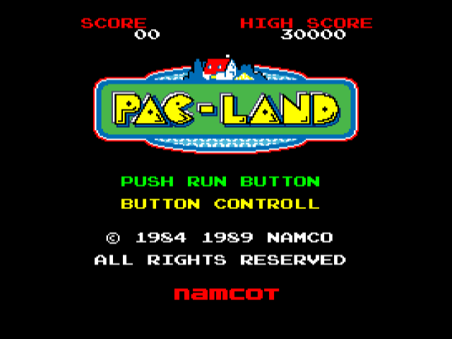 Pac-Land [Model 16] screenshot