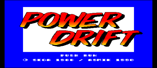 Power Drift [Model 200] screenshot