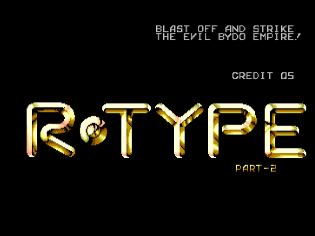 R-Type Part-2 [Model 61] screenshot
