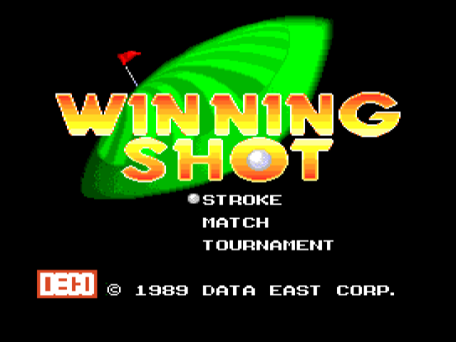 Winning Shot [Model 28] screenshot