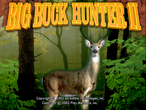 Big Buck Hunter II - Sportsman's Paradise screenshot