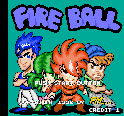 Fire Ball screenshot