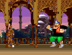 Unamed fighting game prototype screenshot