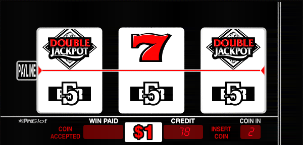 Black & White Double Jackpot screenshot