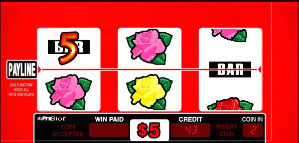 Du rose coin slot machines
