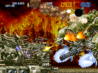 Gun Force II screenshot
