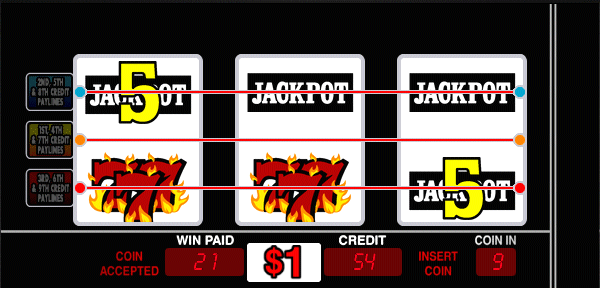 Double Jackpot 7's screenshot