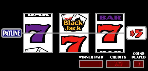 Black Jack [3-Coin] [Model 139A] screenshot