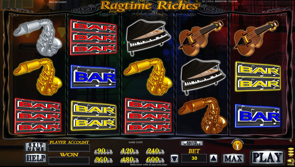 Ragtime Riches screenshot