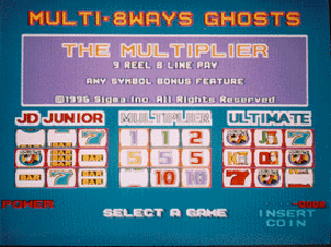 Multi 8 Ways Ghosts screenshot