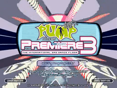 Pump It Up The Premiere 3: The International 3th Dance Floor screenshot