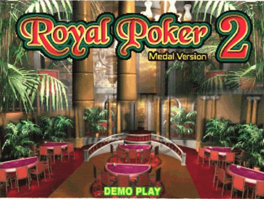 Royal Poker 2 - Medal Version screenshot
