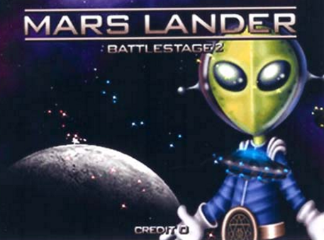 Mars Lander Battle Stage 2 screenshot