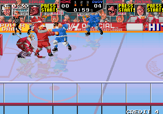 Hit the Ice - The Video Hockey League screenshot