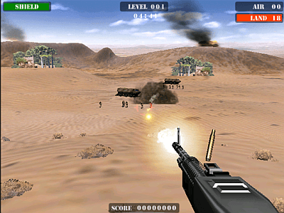 Beach Head 2003 - Desert War screenshot