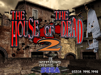 The House of the Dead 2 screenshot