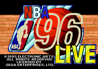 NBA Live 96 screenshot
