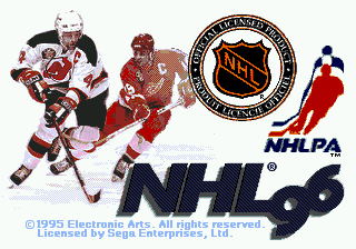 NHL 96 screenshot