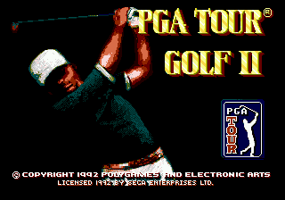 PGA Tour Golf II screenshot