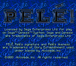 Pelé! screenshot