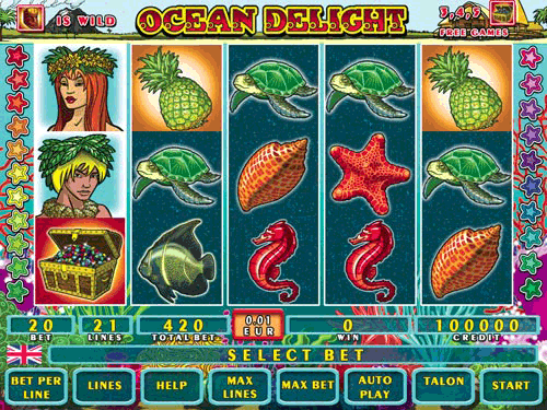 Ocean Delight screenshot