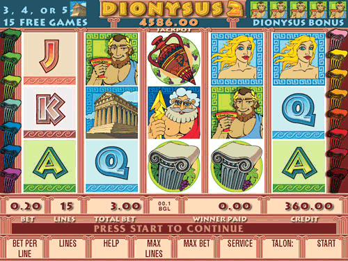 Dionysus 2 screenshot